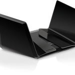 The Netgear RAX20 router with Gigabit WiFi, 4 N/A ETH-ports and                                              0 USB-ports