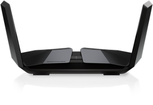 Thumbnail for the Netgear RAX200 (Nighthawk Tri-Band AX12) router with Gigabit WiFi, 4 N/A ETH-ports and                                          0 USB-ports