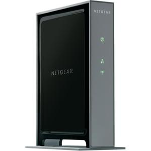 Thumbnail for the Netgear WN802Tv2 router with 300mbps WiFi, 1 Gigabit ETH-ports and                                          0 USB-ports