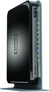 Thumbnail for the Netgear WNDR4300v1 router with 300mbps WiFi, 4 N/A ETH-ports and                                          0 USB-ports