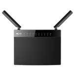 The Nexxt Solutions Acrux 1200 (ARL02124U1) router with Gigabit WiFi, 4 Gigabit ETH-ports and                                              0 USB-ports