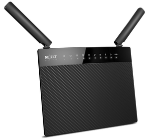 Thumbnail for the Nexxt Solutions Acrux1200 (ARL02124U1) router with Gigabit WiFi, 4 Gigabit ETH-ports and                                          0 USB-ports