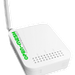 The Open-Mesh OM1P router has 54mbps WiFi, 1 100mbps ETH-ports and 0 USB-ports. It also supports custom firmwares like: dd-wrt, OpenWrt