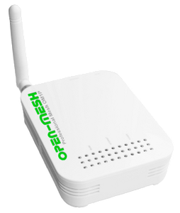 Thumbnail for the Open-Mesh OM1P router with 54mbps WiFi, 1 100mbps ETH-ports and                                          0 USB-ports