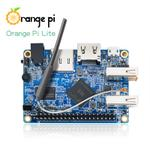 The Orange Pi Lite router with 300mbps WiFi,  N/A ETH-ports and                                                  0 USB-ports