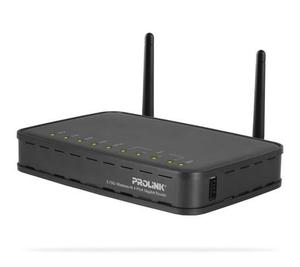 Thumbnail for the PROLiNK WNR1008 router with 300mbps WiFi, 4 Gigabit ETH-ports and                                          0 USB-ports