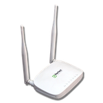 The Perfect PFTP-WR300 router with 300mbps WiFi, 4 100mbps ETH-ports and                                                  0 USB-ports