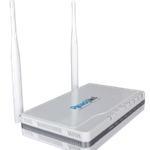 The ReadyNet VWRT510 router with 300mbps WiFi, 4 100mbps ETH-ports and                                              0 USB-ports