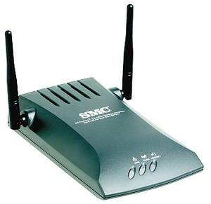 Thumbnail for the SMC SMC2870W router with 54mbps WiFi, 1 100mbps ETH-ports and                                          0 USB-ports
