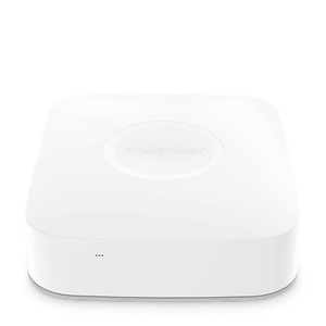 Thumbnail for the Samsung SmartThings Hub v2 (STH-ETH-250) router with No WiFi, 1 100mbps ETH-ports and                                          0 USB-ports
