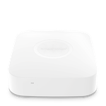 The Samsung SmartThings Hub v3 (STH-ETH-300) router with Gigabit WiFi, 1 100mbps ETH-ports and                                              0 USB-ports