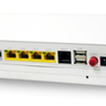 The SerComm RV6699 v2 router with Gigabit WiFi, 4 N/A ETH-ports and                                              0 USB-ports