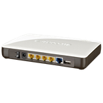 The Sitecom WLR-6000 router with 300mbps WiFi, 4 N/A ETH-ports and                                                  0 USB-ports