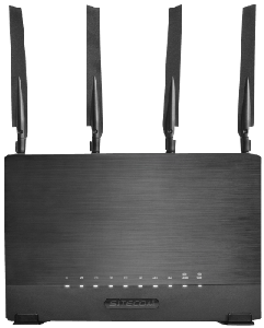 Thumbnail for the Sitecom WLR-9000 router with Gigabit WiFi, 4 Gigabit ETH-ports and                                          0 USB-ports