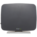 The SmartRG SR510n router with 300mbps WiFi, 4 Gigabit ETH-ports and                                                  0 USB-ports