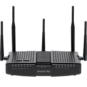 Thumbnail for the SmartRG SR700ac router with Gigabit WiFi, 3 Gigabit ETH-ports and                                          0 USB-ports