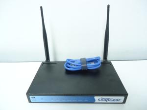 Thumbnail for the SnapGear SG565 router with 54mbps WiFi, 4 100mbps ETH-ports and                                          0 USB-ports