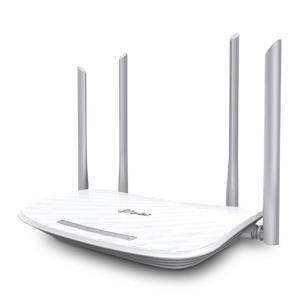 Thumbnail for the TP-LINK Archer A5 v4.x router with Gigabit WiFi, 4 100mbps ETH-ports and                                          0 USB-ports