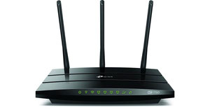 Thumbnail for the TP-LINK Archer A7 v5.x router with Gigabit WiFi, 4 N/A ETH-ports and                                          0 USB-ports