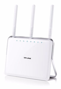 Thumbnail for the TP-LINK Archer A9 v6.x router with Gigabit WiFi, 4 N/A ETH-ports and                                          0 USB-ports