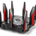 The TP-LINK Archer AX1000 v1.x router has Gigabit WiFi, 7 Gigabit ETH-ports and 0 USB-ports.