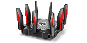 Thumbnail for the TP-LINK Archer AX1000 v1.x router with Gigabit WiFi, 7 Gigabit ETH-ports and                                          0 USB-ports