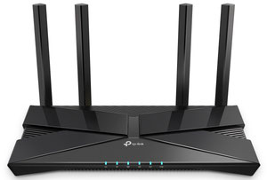 Thumbnail for the TP-LINK Archer AX1500 router with Gigabit WiFi, 4 Gigabit ETH-ports and                                          0 USB-ports
