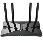 The TP-LINK Archer AX50 router with Gigabit WiFi, 4 N/A ETH-ports and                                                  0 USB-ports