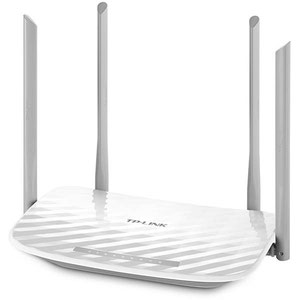 Thumbnail for the TP-LINK Archer C25 v1.x router with Gigabit WiFi, 4 100mbps ETH-ports and                                          0 USB-ports