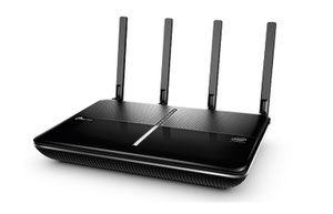 Thumbnail for the TP-LINK Archer C2700 v1.x router with Gigabit WiFi, 4 Gigabit ETH-ports and                                          0 USB-ports