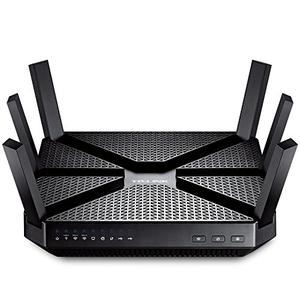 Thumbnail for the TP-LINK Archer C3200 router with Gigabit WiFi, 4 Gigabit ETH-ports and                                          0 USB-ports