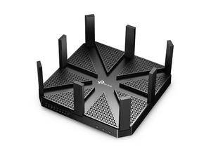 Thumbnail for the TP-LINK Archer C4000 v2.x router with Gigabit WiFi, 4 Gigabit ETH-ports and                                          0 USB-ports