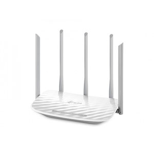 Thumbnail for the TP-LINK Archer C60 v1.x router with Gigabit WiFi, 4 100mbps ETH-ports and                                          0 USB-ports