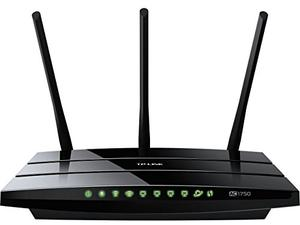 Thumbnail for the TP-LINK Archer C7 v5.x router with Gigabit WiFi, 4 Gigabit ETH-ports and                                          0 USB-ports