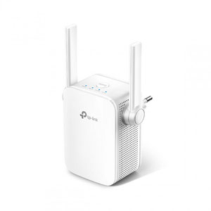Thumbnail for the TP-LINK RE205 V2 router with Gigabit WiFi, 1 100mbps ETH-ports and                                          0 USB-ports