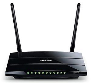 Thumbnail for the TP-LINK TL-WDR3500 router with 300mbps WiFi, 4 100mbps ETH-ports and                                          0 USB-ports