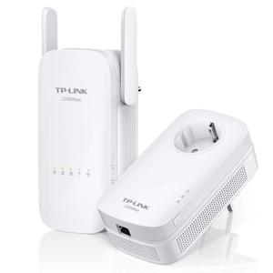Thumbnail for the TP-LINK TL-WPA8630 v2 router with Gigabit WiFi, 3 Gigabit ETH-ports and                                          0 USB-ports