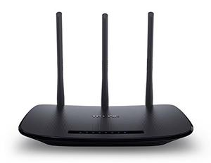 Thumbnail for the TP-LINK TL-WR940N v4.x router with 300mbps WiFi, 4 100mbps ETH-ports and                                          0 USB-ports