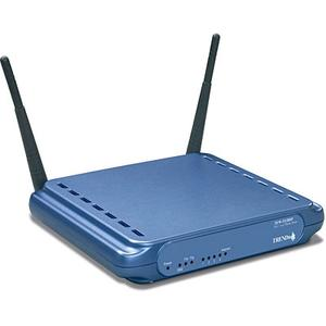 Thumbnail for the TRENDnet TEW-511BRP router with 54mbps WiFi, 4 100mbps ETH-ports and                                          0 USB-ports