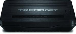 Thumbnail for the TRENDnet TEW-721BRM V1.0R router with 300mbps WiFi,  100mbps ETH-ports and                                          0 USB-ports