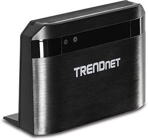 Thumbnail for the TRENDnet TEW-732BR router with 300mbps WiFi, 4 100mbps ETH-ports and                                          0 USB-ports