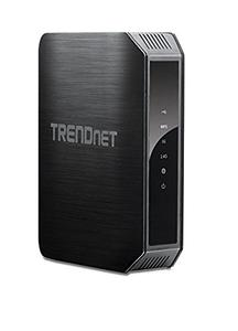 Thumbnail for the TRENDnet TEW-813DRU V1.0R router with Gigabit WiFi, 4 Gigabit ETH-ports and                                          0 USB-ports