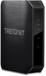 Thumbnail for the TRENDnet TEW-814DAP V1.xR router with Gigabit WiFi, 1 Gigabit ETH-ports and                                          0 USB-ports