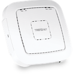 The TRENDnet TEW-821DAP V1.0R router with Gigabit WiFi, 1 N/A ETH-ports and                                                  0 USB-ports