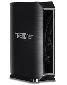 Thumbnail for the TRENDnet TEW-823DRU V1.xR router with Gigabit WiFi, 4 Gigabit ETH-ports and                                          0 USB-ports