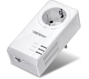 Thumbnail for the TRENDnet TPL-421E router with No WiFi, 1 Gigabit ETH-ports and                                          0 USB-ports