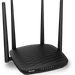 The Tenda AC5 router has Gigabit WiFi, 3 100mbps ETH-ports and 0 USB-ports. It has a total combined WiFi throughput of 1200 Mpbs.