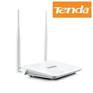 Thumbnail for the Tenda W3002R router with 300mbps WiFi, 4 100mbps ETH-ports and                                          0 USB-ports