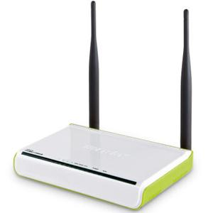 Thumbnail for the Tenda W307R v3 router with 300mbps WiFi, 4 100mbps ETH-ports and                                          0 USB-ports