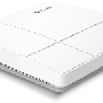 The Tenda i24 router with Gigabit WiFi, 1 Gigabit ETH-ports and                                                  0 USB-ports